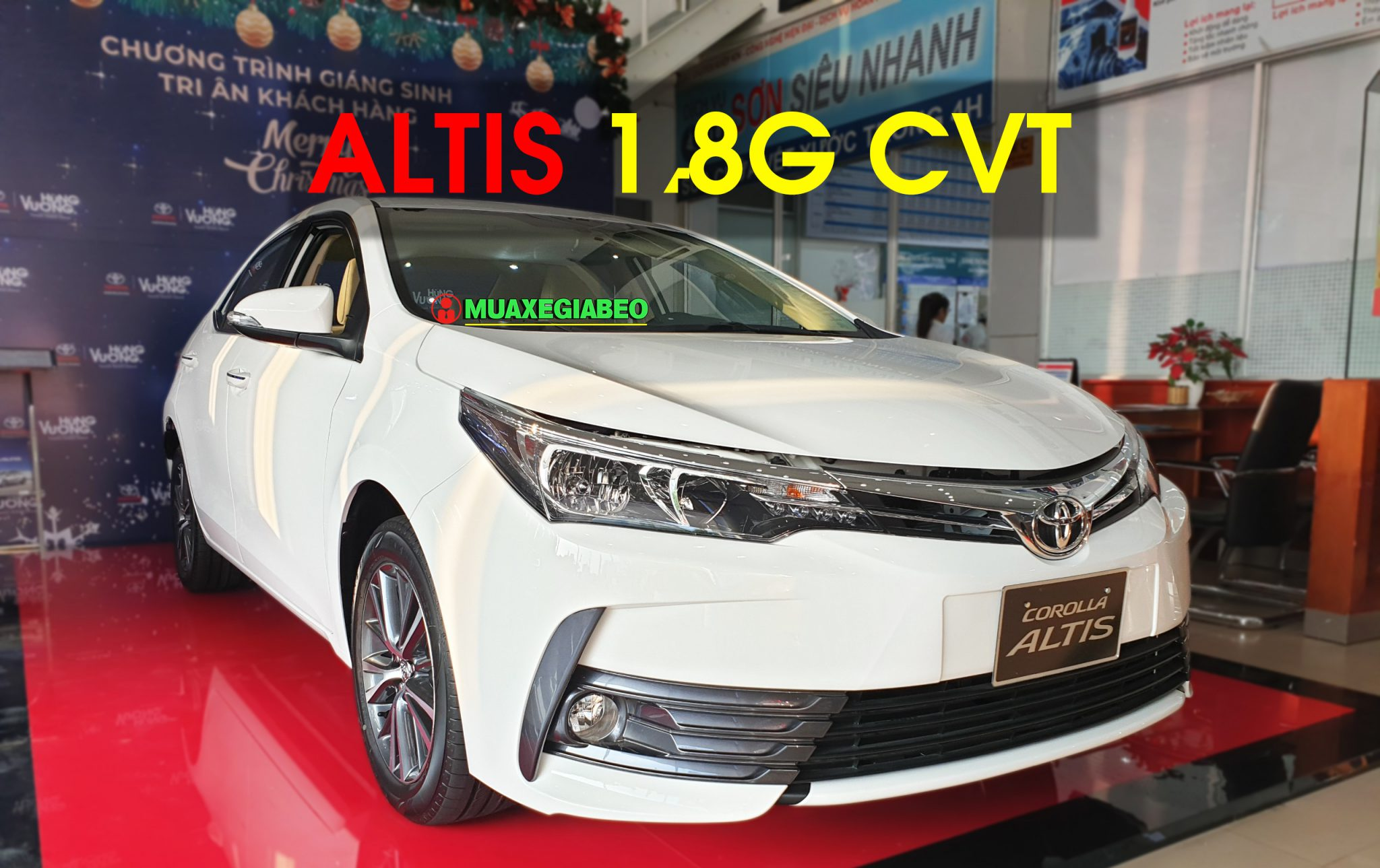 Altis 1.8 G CVT ảnh 6