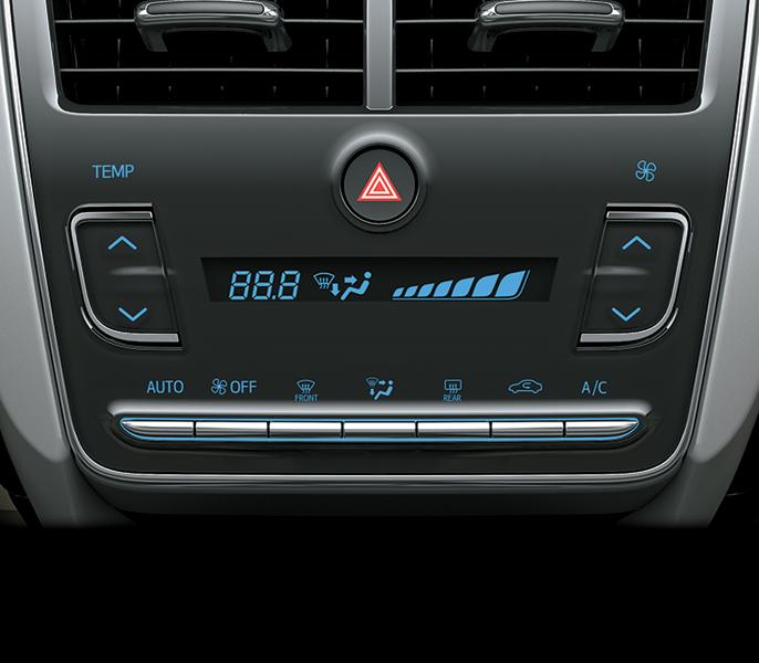 Hệ thống điều hòa Yais 2019 - Toyota Yaris: giá xe và khuyến mãi tháng [hienthithang]/[hienthinam]