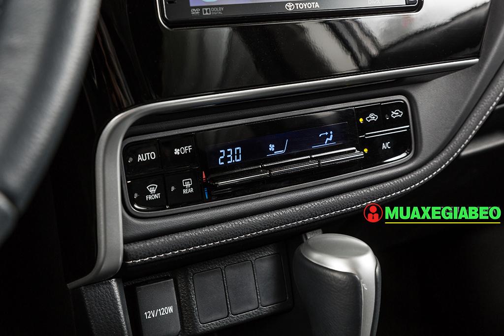 Toyota Altis ảnh 16 - Toyota Altis: Giá xe và khuyến mãi cập nhật tháng [hienthithang]/[hienthinam]