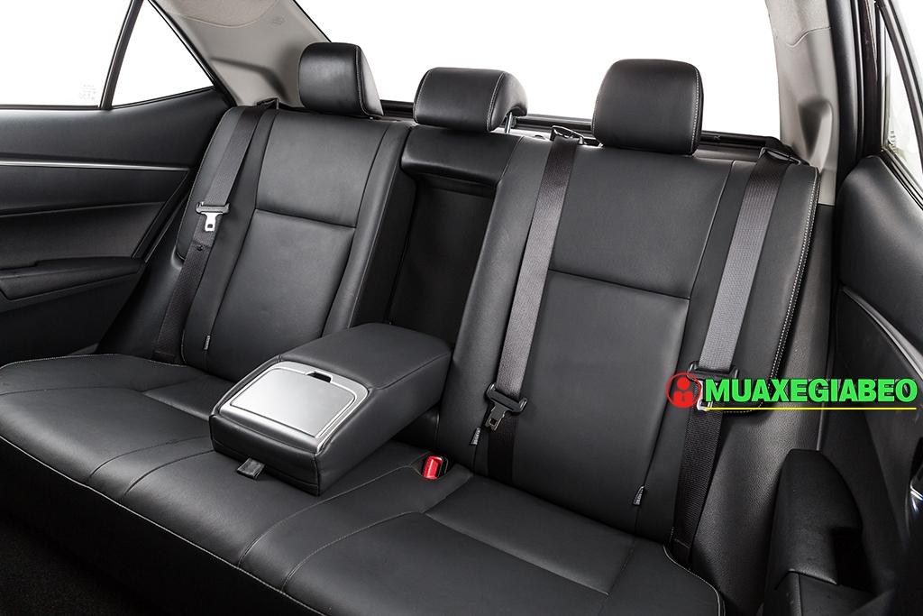 Toyota Altis ảnh 23 - Toyota Altis: Giá xe và khuyến mãi cập nhật tháng [hienthithang]/[hienthinam]