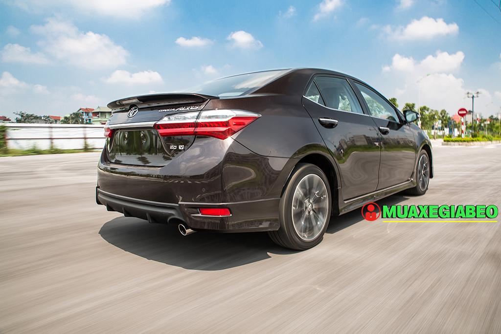Toyota Altis ảnh 7 - Toyota Altis: Giá xe và khuyến mãi cập nhật tháng [hienthithang]/[hienthinam]