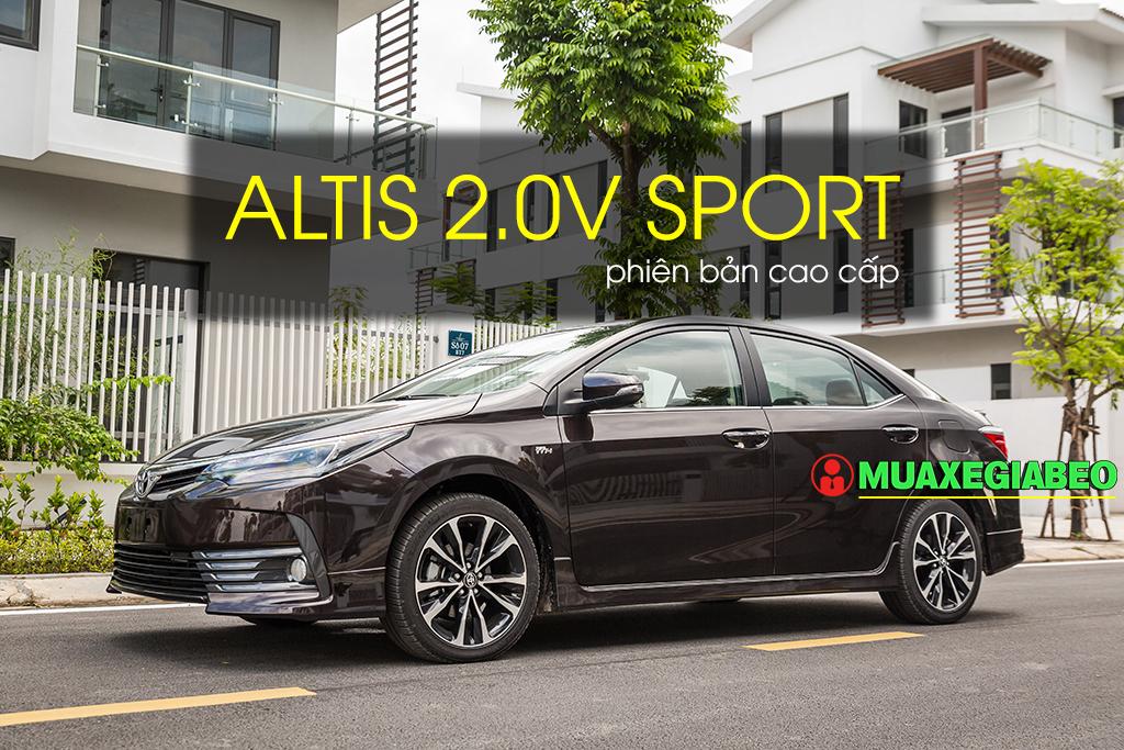 Altis 2.0v sport