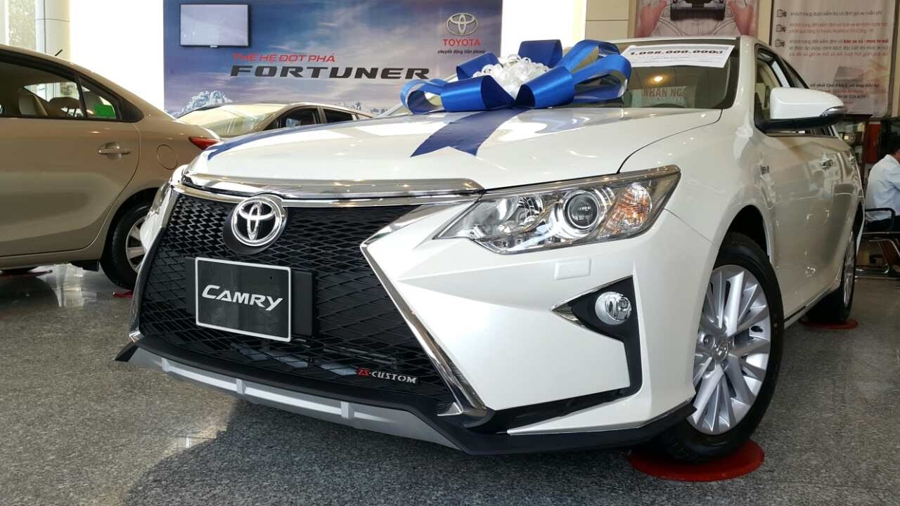 Toyota Camry - Bảng giá xe Toyota [hienthinam] được cập nhật liên tục