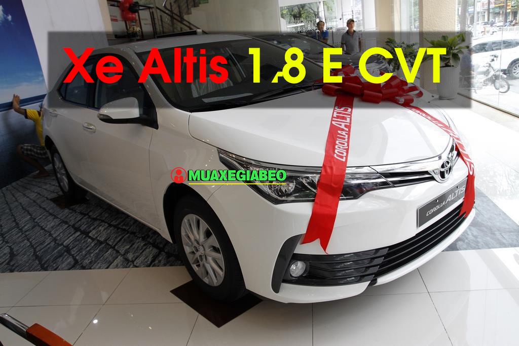 Altis 1.8 E CVT