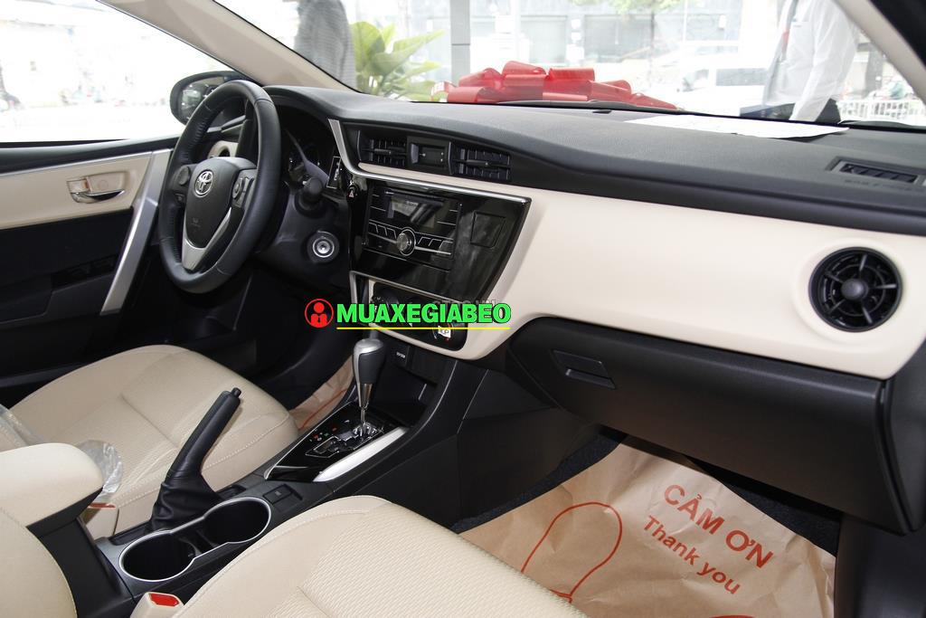 Toyota Corolla Altis 1 8E CVT ảnh 3 - Altis 1.8 E CVT [hienthinam]: khuyến mãi và giá xe cập nhật mới