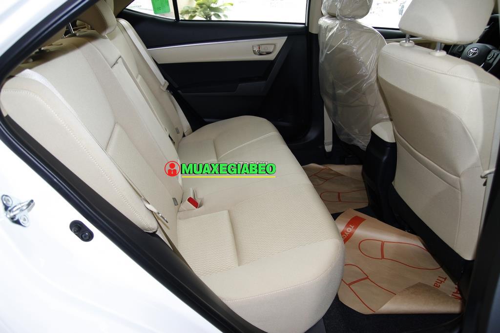 Toyota Corolla Altis 1 8E CVT ảnh 4 - Altis 1.8 E CVT [hienthinam]: khuyến mãi và giá xe cập nhật mới