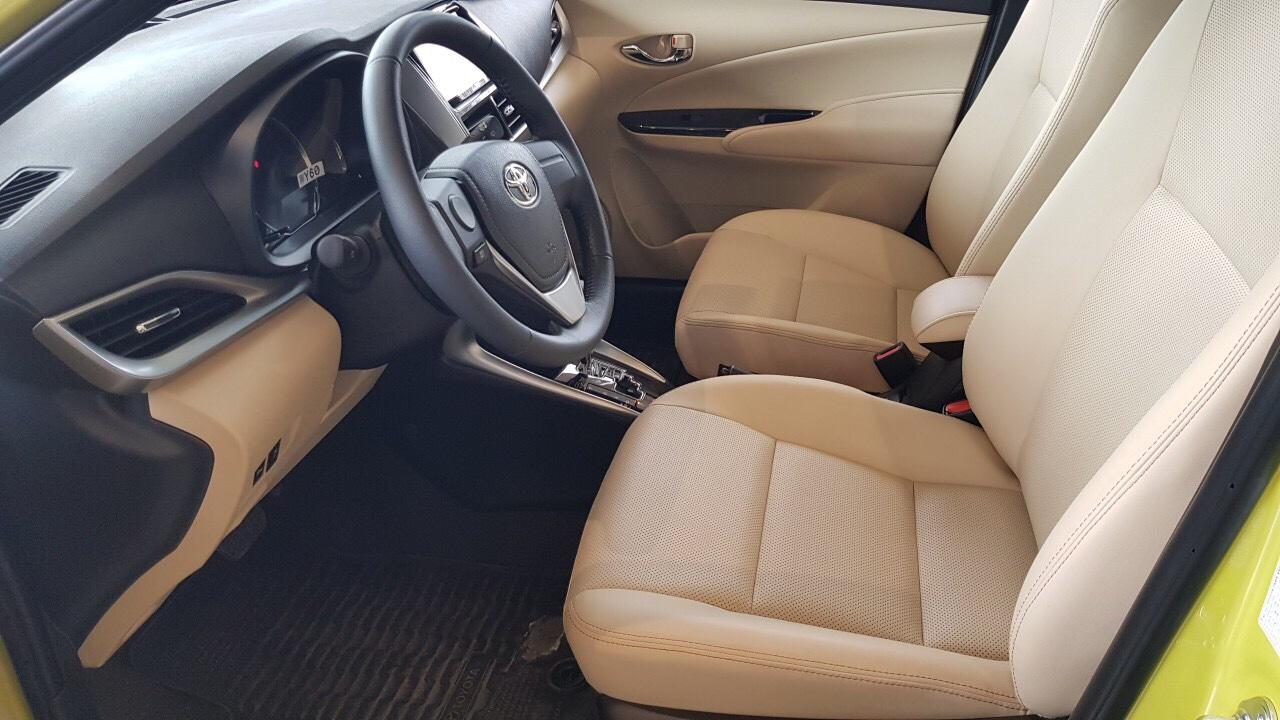 Toyota Vios 1.5 G CVT ảnh 6 - So sánh Vios và Mazda 2 Sedan: tầm 500-600 triệu nên nên xe 5 chỗ nào