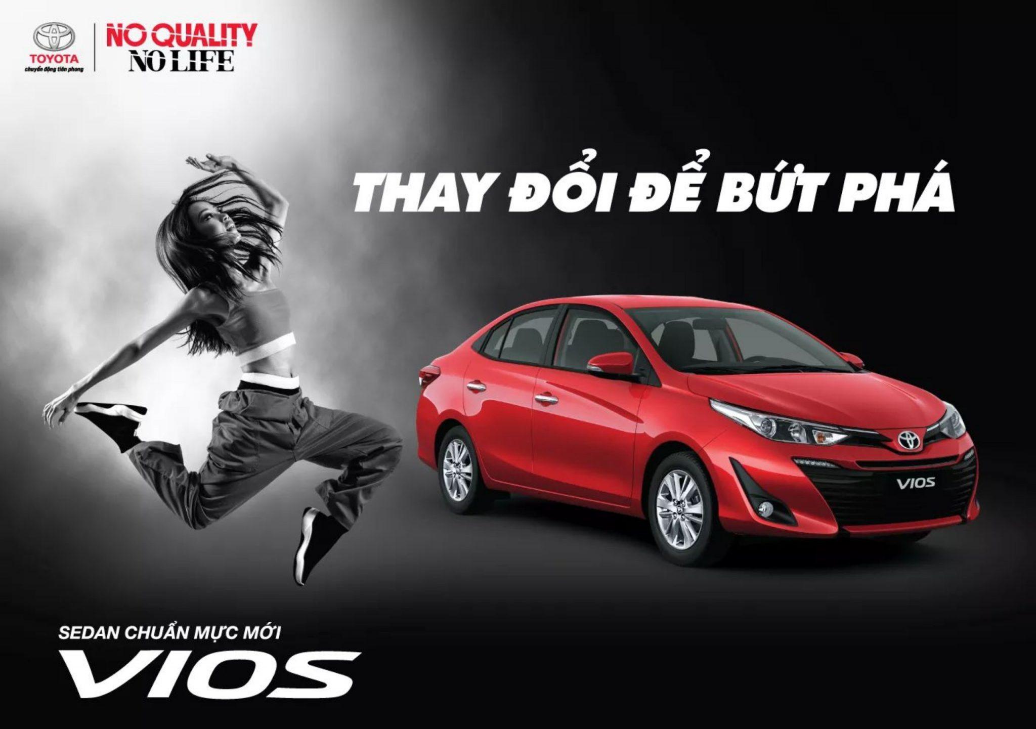 Toyota Vios 2 - Bảng giá xe Toyota [hienthinam] được cập nhật liên tục