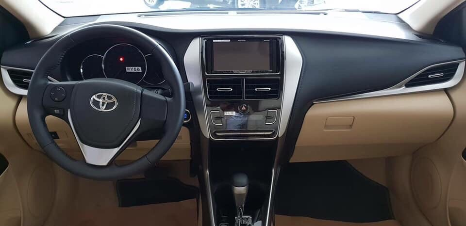Toyota Vios G màu bạc ảnh 4 - Mua xe Vios trả góp - Tìm hiểu từ A đến Z các thông tin mà ít ai biết