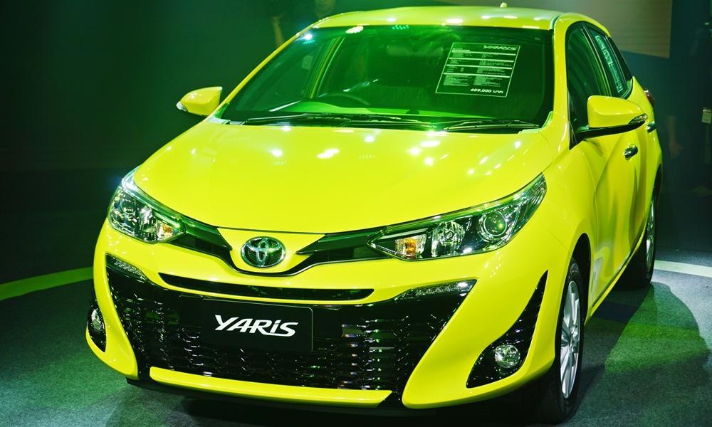 Toyota Yaris 1 - Giới thiệu Toyota Việt Nam