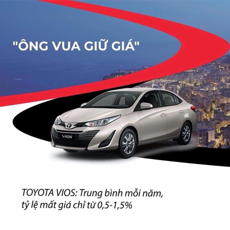 Xe Vios mất giá chỉ 05 15 mỗi năm - Toyota Vios 2020: giá bán và khuyến mãi cập nhật mỗi 2 phút