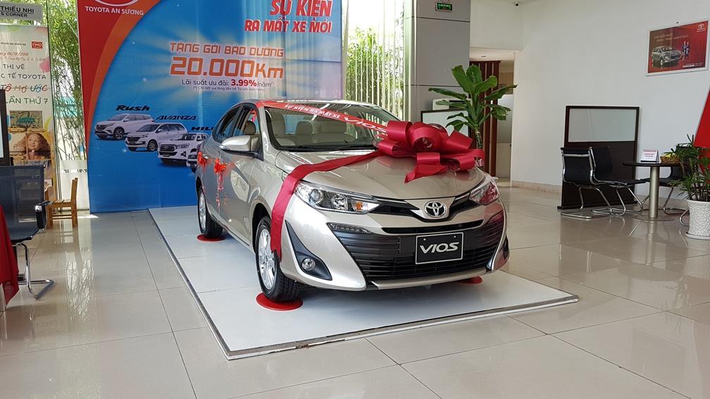 Toyota Vios 2019: giá xe, thông số và ưu đãi mới nhất từ nhà máy