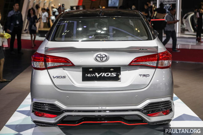 hình ảnh toyota vios độ cực đẹp ảnh 7 - So sánh xe Vios và Mazda 3: Ăn chắc mặc bền hay tiện nghi công nghệ