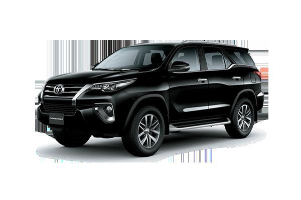 Fortuner Đen - Fortuner 2.4G 4x2 AT [hienthinam]: giá xe và khuyến mãi mới