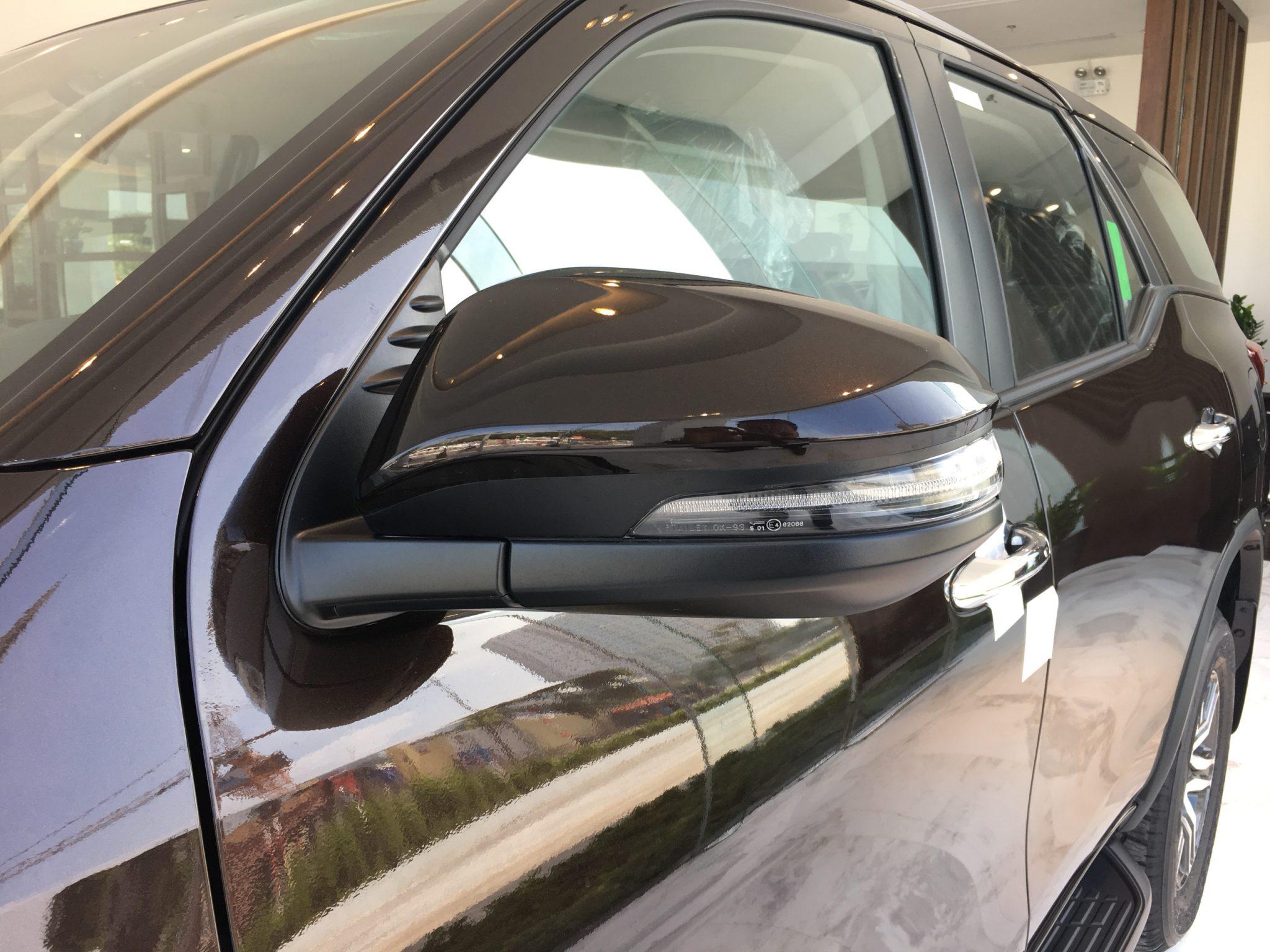 Gương chiếu hậu xe Fortuner - Fortuner 2.7 V 4x2 AT [hienthinam]: giá xe và khuyến mãi mới