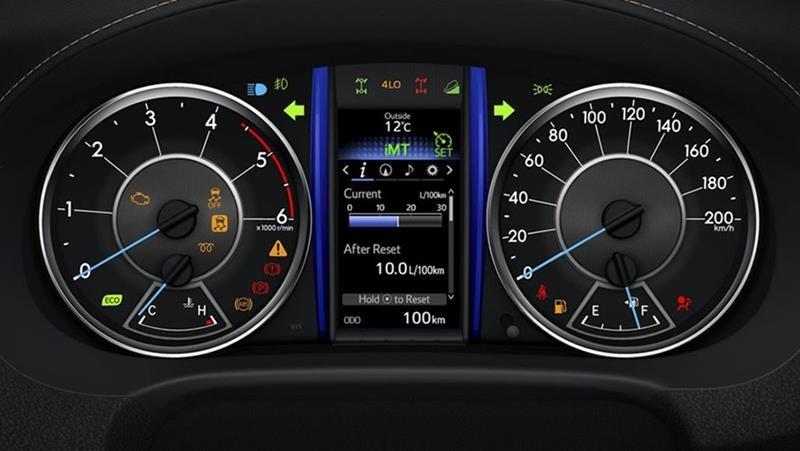Màn hình hiển thị thông tin Fortuner - Toyota Fortuner: giá xe và khuyến mãi cập nhật tháng [hienthithang]/[hienthinam]