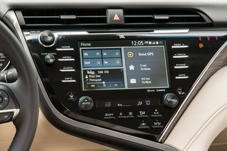 Toyota Camry 2019 nhap khau anh 21 - Toyota Camry: giá xe và khuyến mãi cập nhật tháng [hienthithang]/[hienthinam]