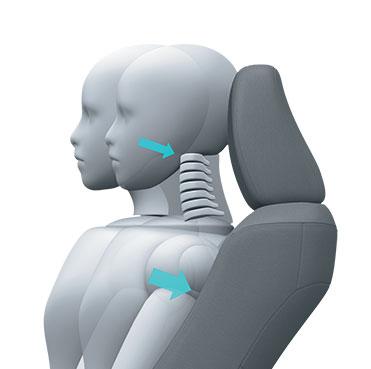 ghế ngồi cấu trúc giảm chấn thương