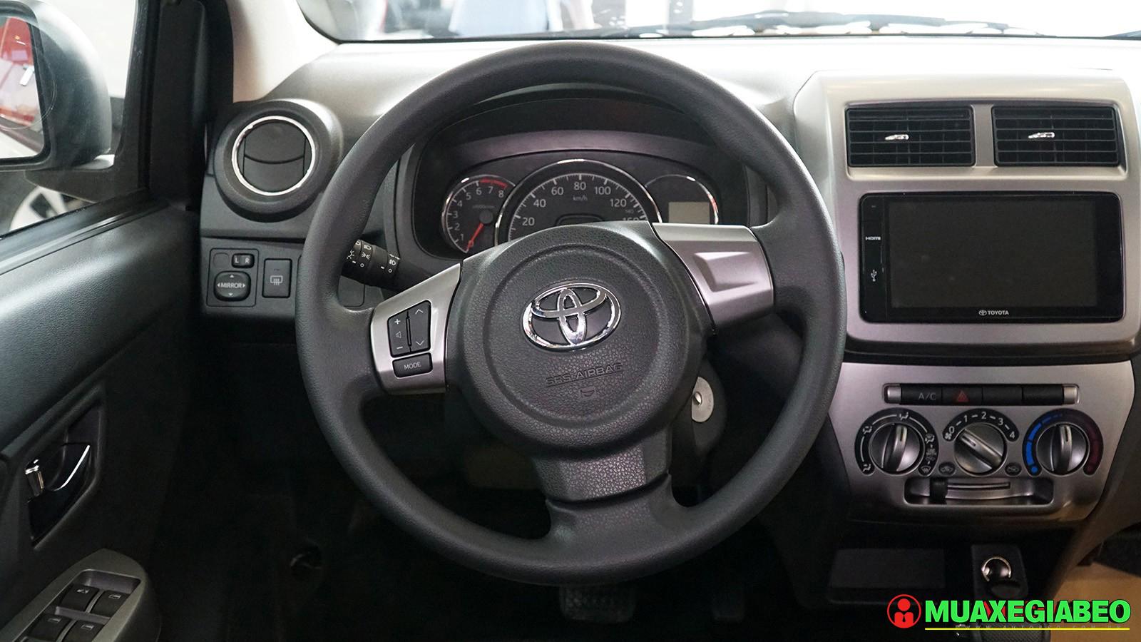 Đánh giá tổng quan về Toyota Wigo AT số tự động phiên bản cao cấp ảnh 12 - Wigo 1.2AT [hienthinam] (số tự động): giá xe và khuyến mãi mới