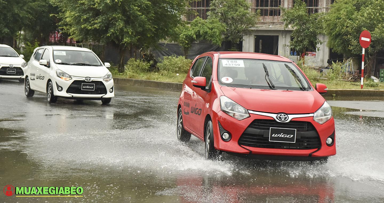 Đánh giá tổng quan về Toyota Wigo AT số tự động phiên bản cao cấp ảnh 19 - Wigo 1.2MT [hienthinam] (số sàn): giá xe và khuyến mãi mới
