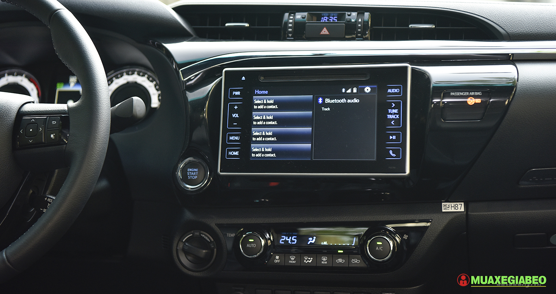 Đánh giá xe bán tải Toyota Hilux phiên bản mới ảnh 12 - Hilux 2020: giá xe và khuyến mãi cập nhật tháng [hienthithang]