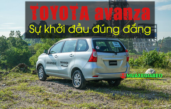 ảnh xe Toyota Avanza mới