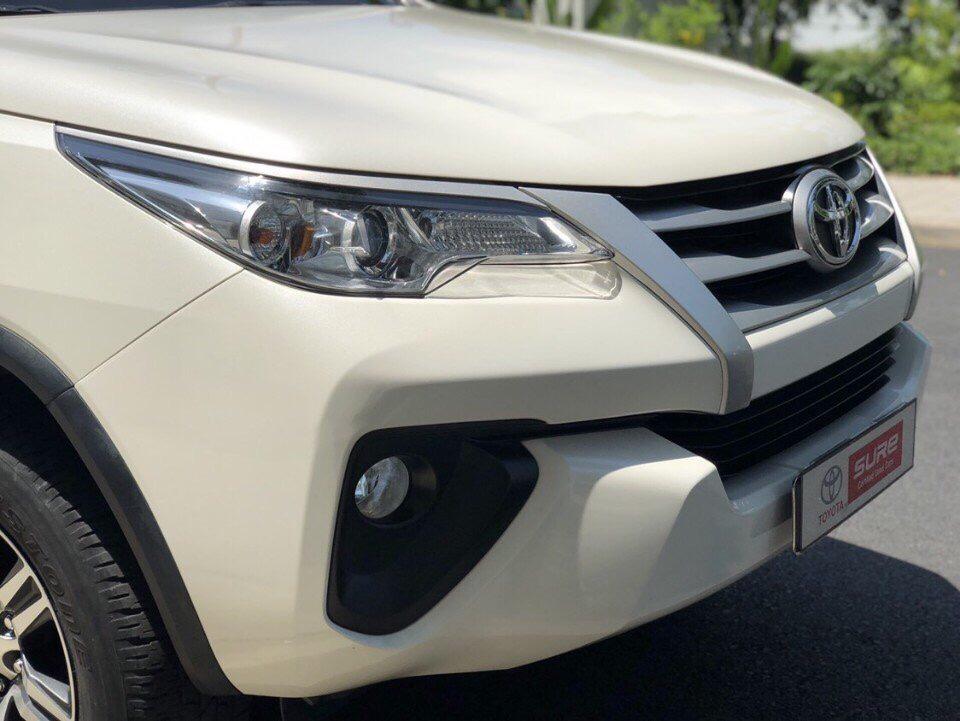 Fortuner 2.4G 4x2 AT màu trắng ảnh 7 - Fortuner 2.4 G MT [hienthinam] (máy dầu, số sàn): giá xe và khuyến mãi mới