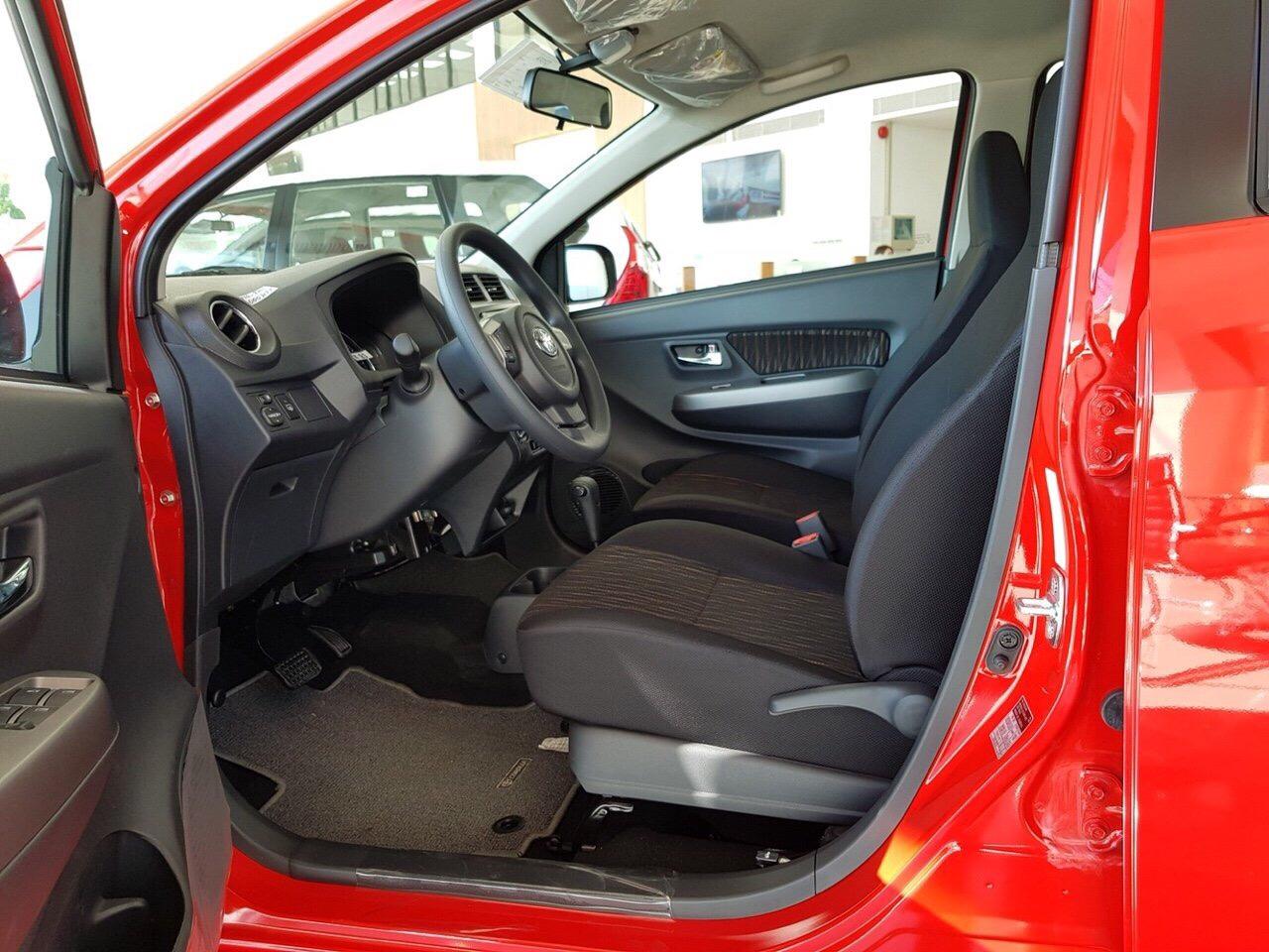 Hình ảnh xe Wigo màu đỏ ảnh 2 - Toyota Wigo: giá xe và khuyến mãi tháng [hienthithang]/[hienthinam]