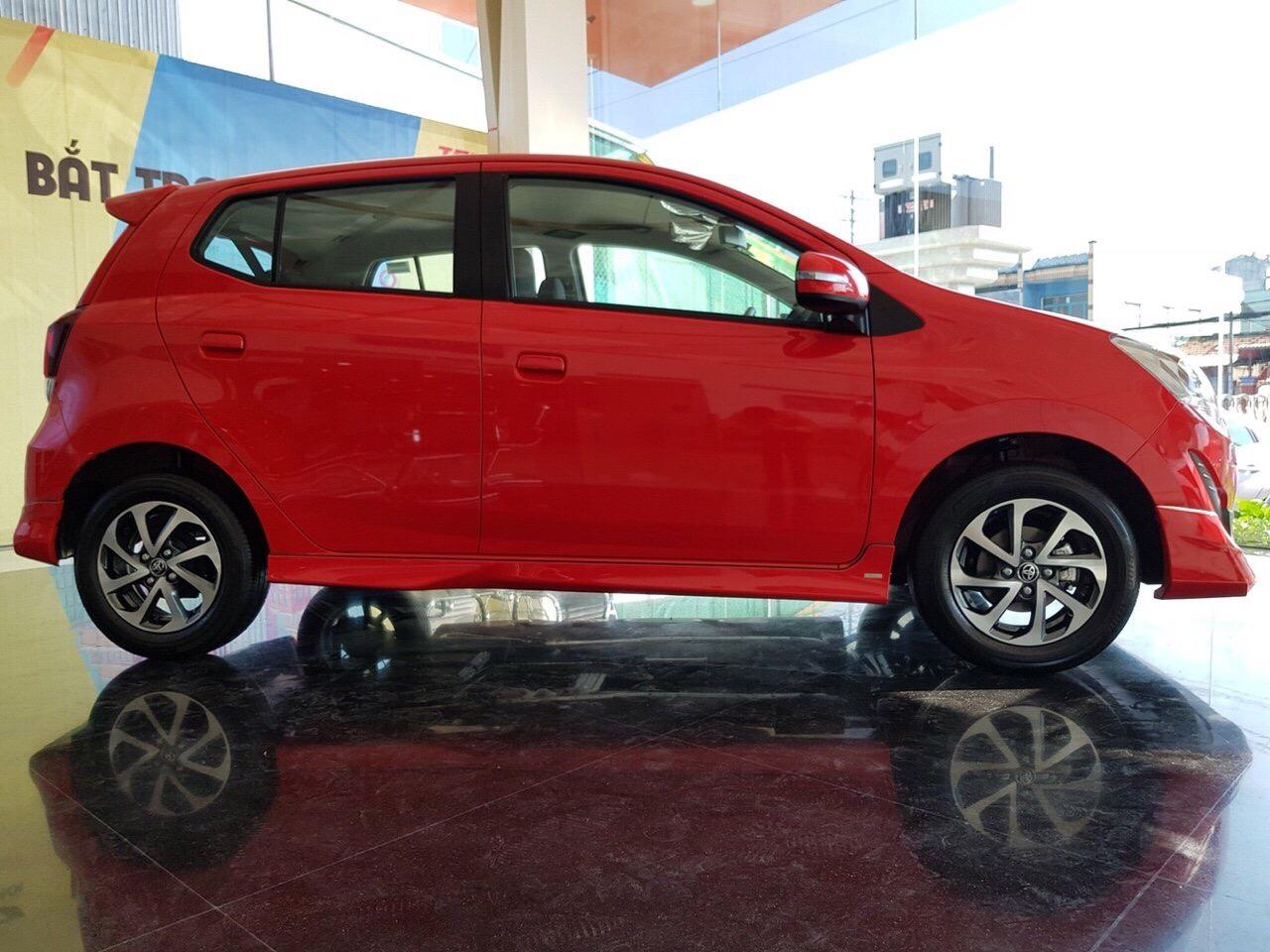 Hình ảnh xe Wigo màu đỏ ảnh 6 - Toyota Wigo: giá xe và khuyến mãi tháng [hienthithang]/[hienthinam]