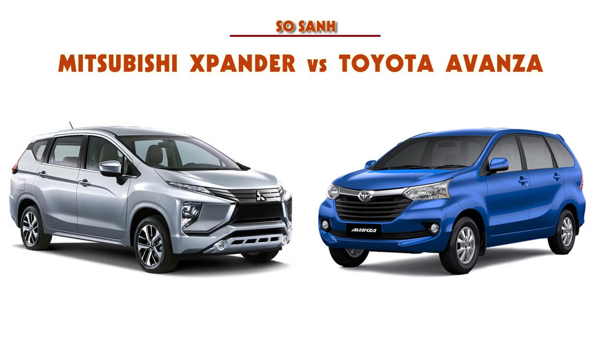 So sánh Toyota Avanza 1.5AT và Mitsubishi Xpander 1.5 AT - Toyota Avanza: thông số và giá xe tháng [hienthithang]