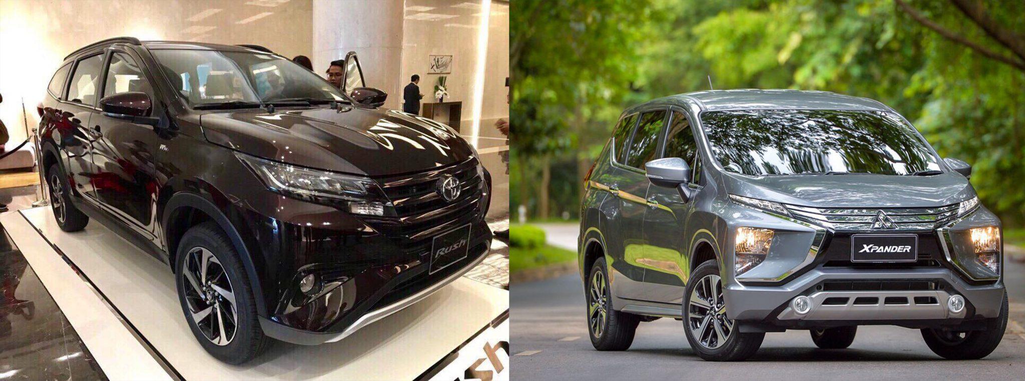 So sánh Toyota Rush và Expander - Toyota Rush: giá xe và khuyến mãi tháng [hienthithang]