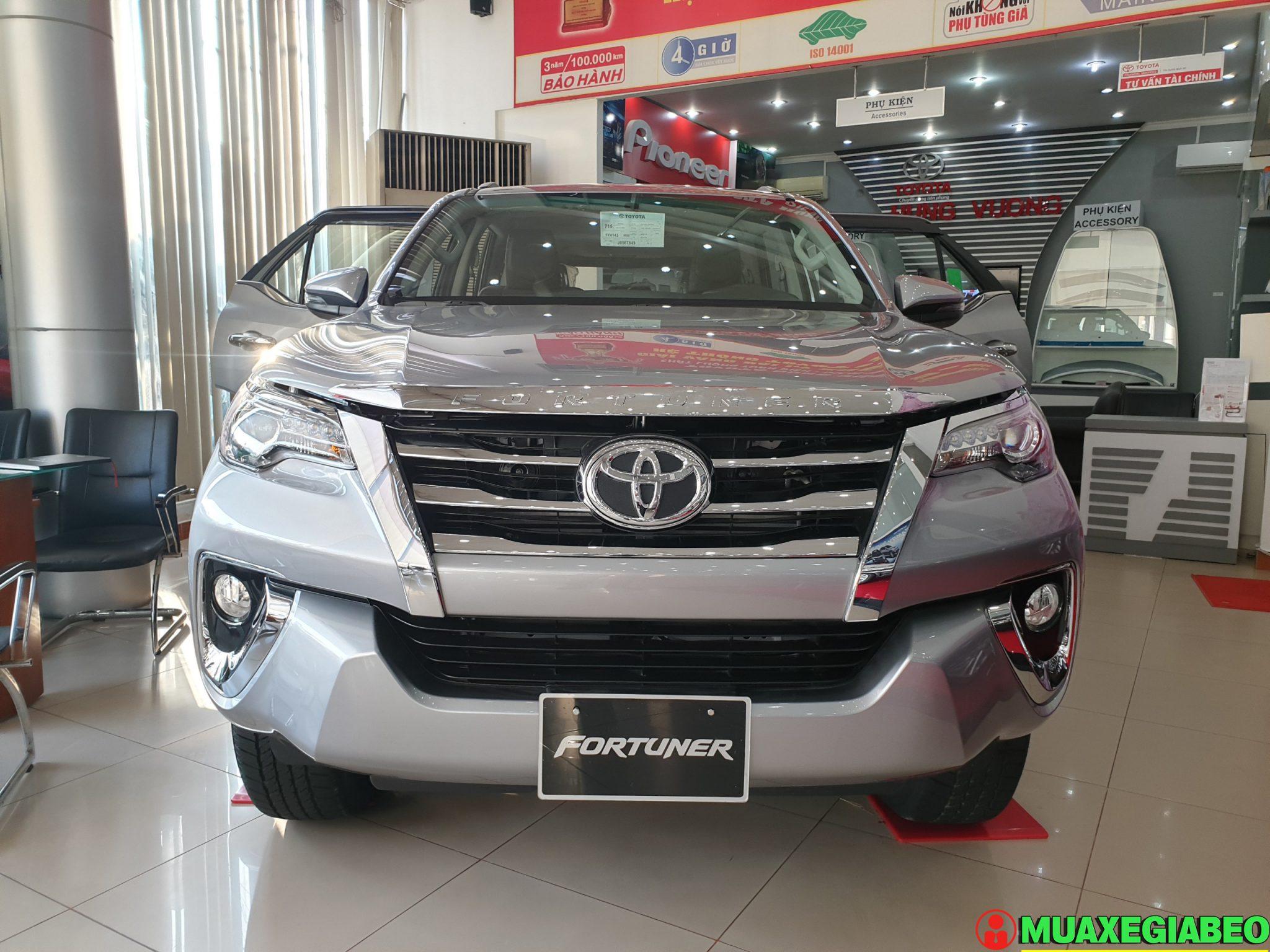 Toyota Fortuner 2.8 V diesel 4x4 AT Đánh giá thông số lăn bánh trả góp ảnh 4 - Fortuner 2.8 V 4WD [hienthinam]: giá xe và khuyến mãi mới