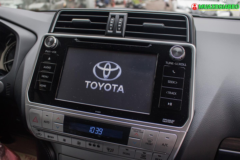 Toyota Prado ảnh 12 - Land Cruiser và Prado: Thông số, hình ảnh và giá xe năm [hienthinam]