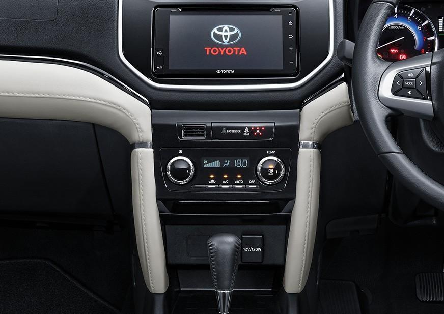 Toyota Rush bản điều khiển hệ thống điều hòa - Toyota Rush: giá xe và khuyến mãi tháng [hienthithang]