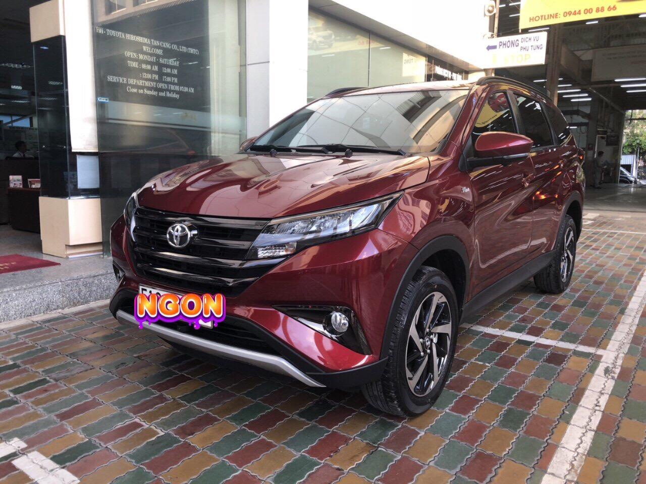 Toyota Rush màu đỏ ảnh 1 - Toyota Rush: giá xe và khuyến mãi tháng [hienthithang]