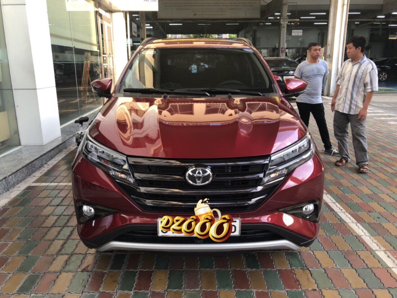 Toyota Rush màu đỏ ảnh 6 - Rush 2020: giá xe và khuyến mãi tháng [hienthithang]