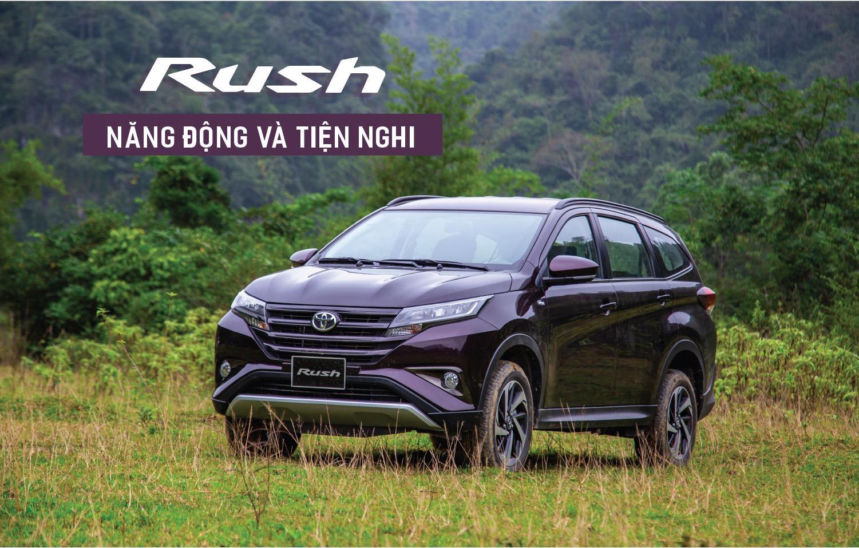 Toyota Rush năng động và tiện nghi - Rush 2020: giá xe và khuyến mãi tháng [hienthithang]