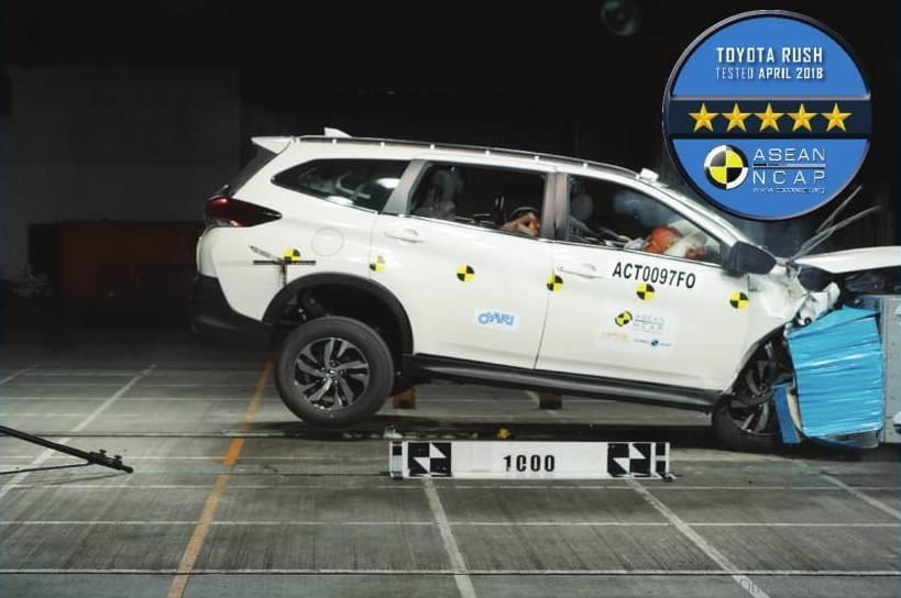 Toyota Rush phần an toàn ảnh 2 - Toyota Rush: giá xe và khuyến mãi tháng [hienthithang]