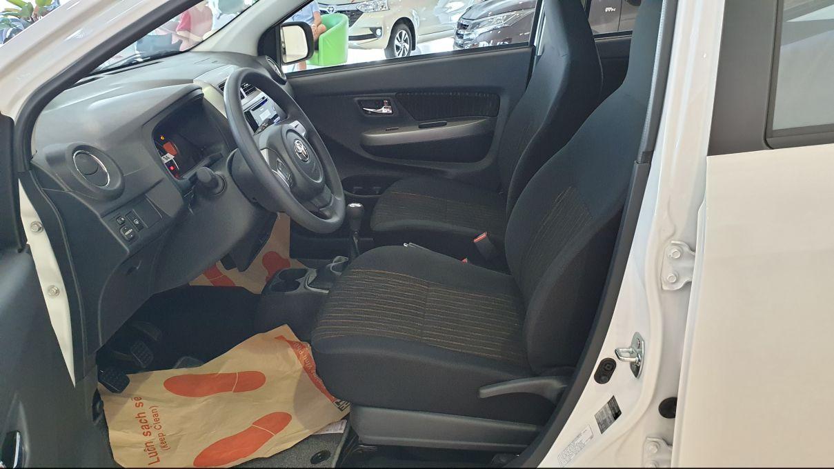 Toyota Wigo 1.2 MT Mẫu xe thành thị sang trọng giá hời đã có mặt tại VN ảnh 11 - Wigo 1.2MT [hienthinam] (số sàn): giá xe và khuyến mãi mới