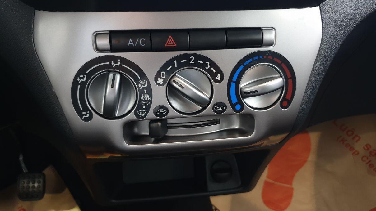 Toyota Wigo 1.2 MT Mẫu xe thành thị sang trọng giá hời đã có mặt tại VN ảnh 16 - Wigo 1.2MT [hienthinam] (số sàn): giá xe và khuyến mãi mới
