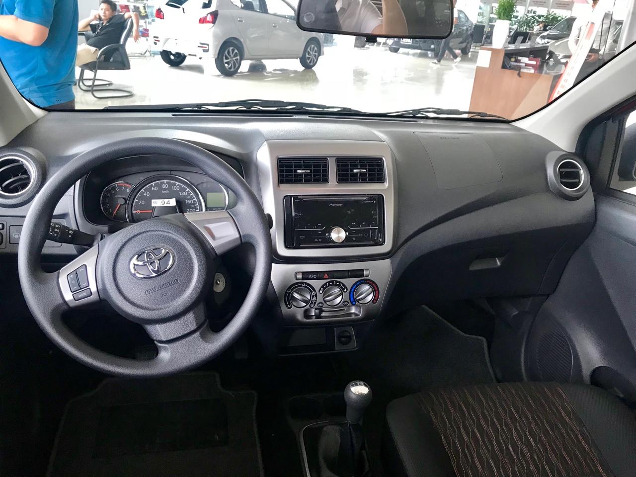 Toyota Wigo 1.2 MT Mẫu xe thành thị sang trọng giá hời đã có mặt tại VN ảnh 18 - Wigo 1.2MT [hienthinam] (số sàn): giá xe và khuyến mãi mới
