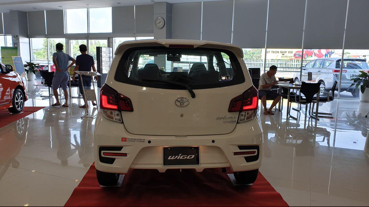 Toyota Wigo 1.2 MT Mẫu xe thành thị sang trọng giá hời đã có mặt tại VN ảnh 19 - Wigo 1.2MT [hienthinam] (số sàn): giá xe và khuyến mãi mới