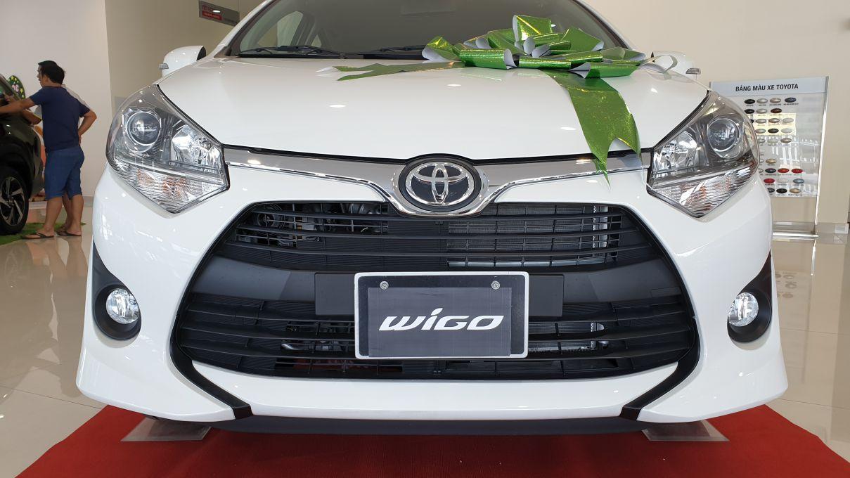 Toyota Wigo 1.2 MT Mẫu xe thành thị sang trọng giá hời đã có mặt tại VN ảnh 5 - Wigo 1.2MT [hienthinam] (số sàn): giá xe và khuyến mãi mới