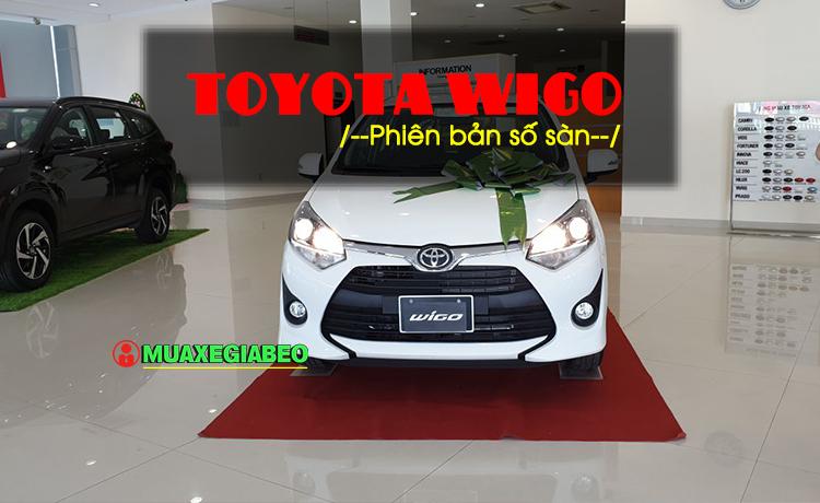 Toyota Wigo MT - Mẫu xe thành thị sang trọng giá hời đã có mặt tại VN
