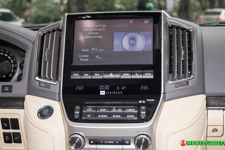 Xe Land Cruiser v8 ảnh 11 - Land Cruiser và Prado: Thông số, hình ảnh và giá xe năm [hienthinam]