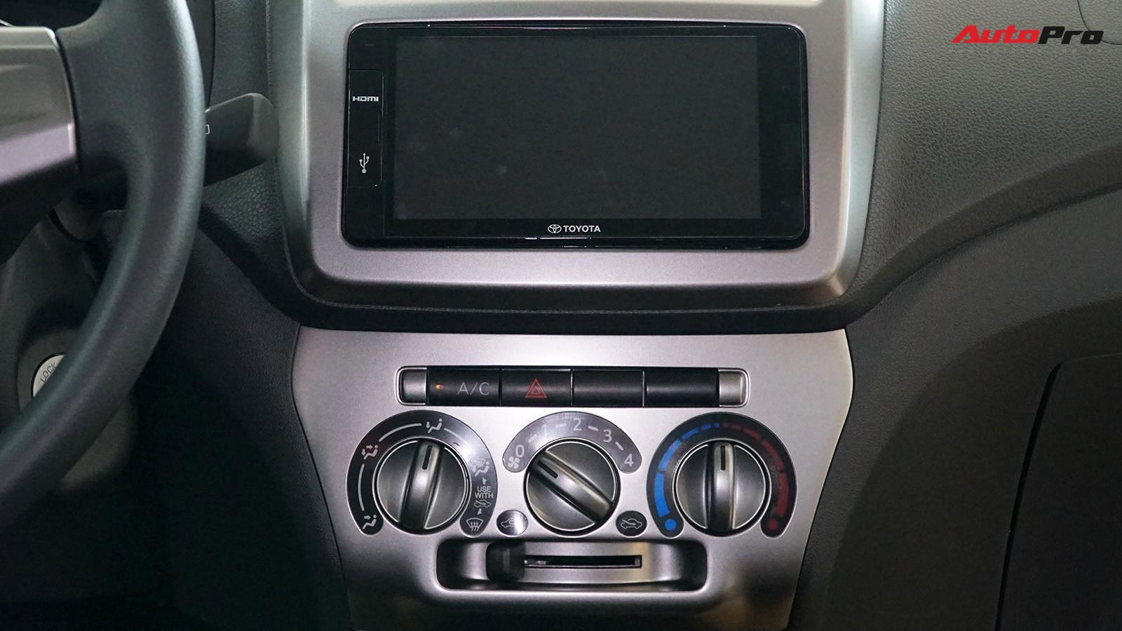 hệ thống giải trí và điều hòa xe Wigo - Toyota Wigo: giá xe và khuyến mãi tháng [hienthithang]/[hienthinam]