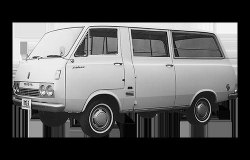 Toyota Hiace đời đầu năm 1967