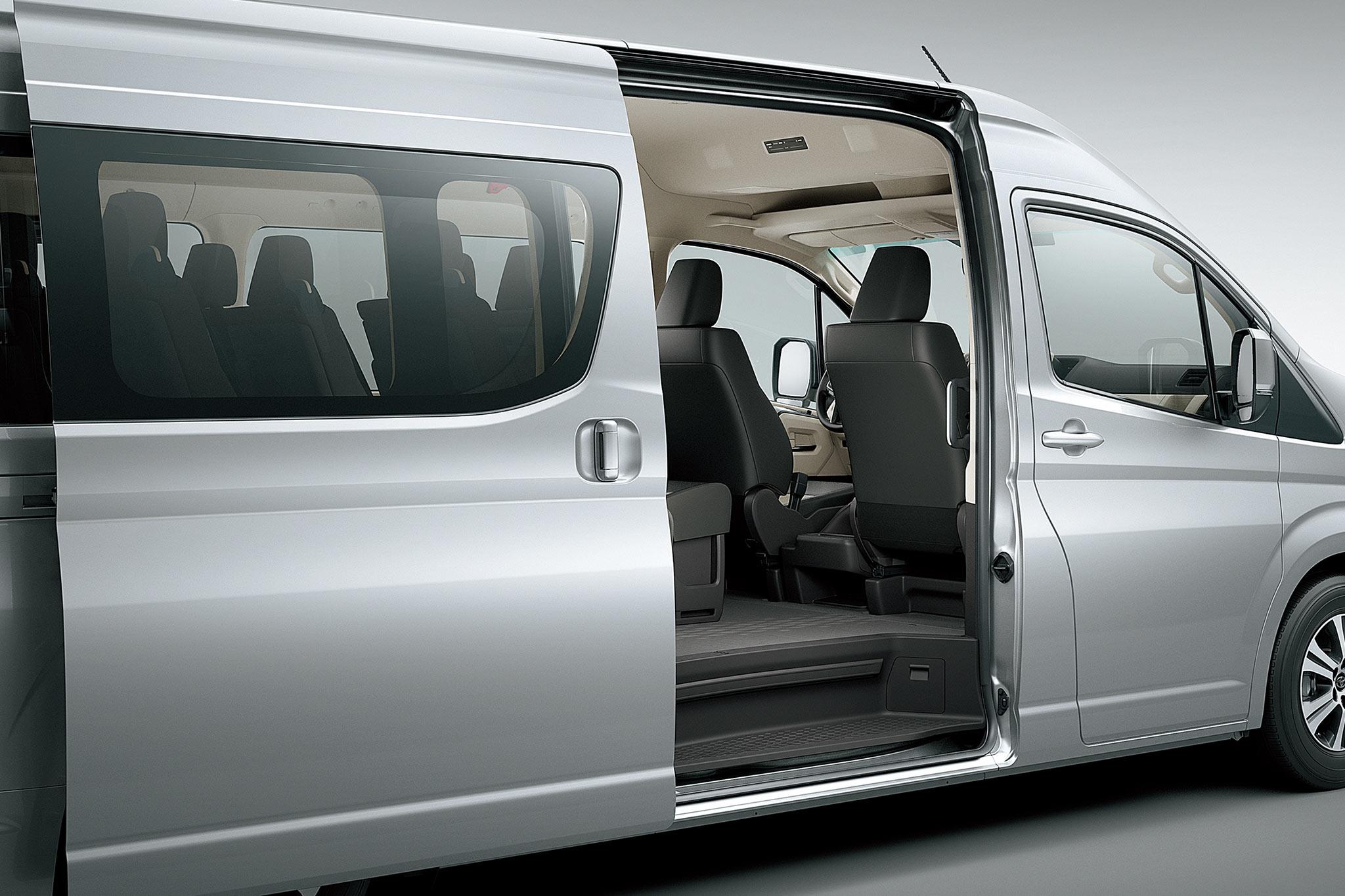 Toyota Hiace 16 chỗ máy dầu ảnh 6 - Hiace 2020: giá xe và khuyến mãi tháng [hienthithang]