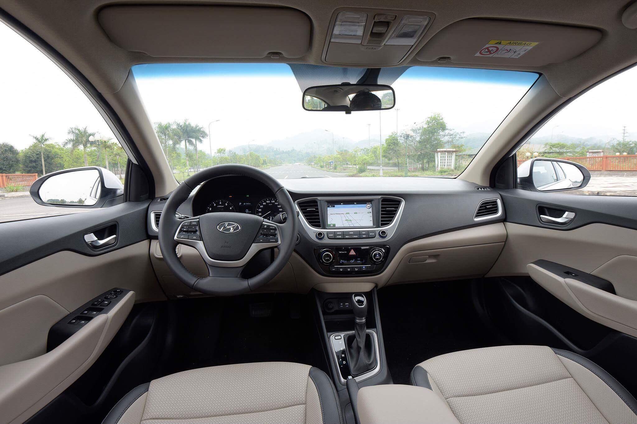 Hyundai accent anh 8 - Hyundai Accent mới: giá xe và khuyến mãi tháng [hienthithang]/[hienthinam]
