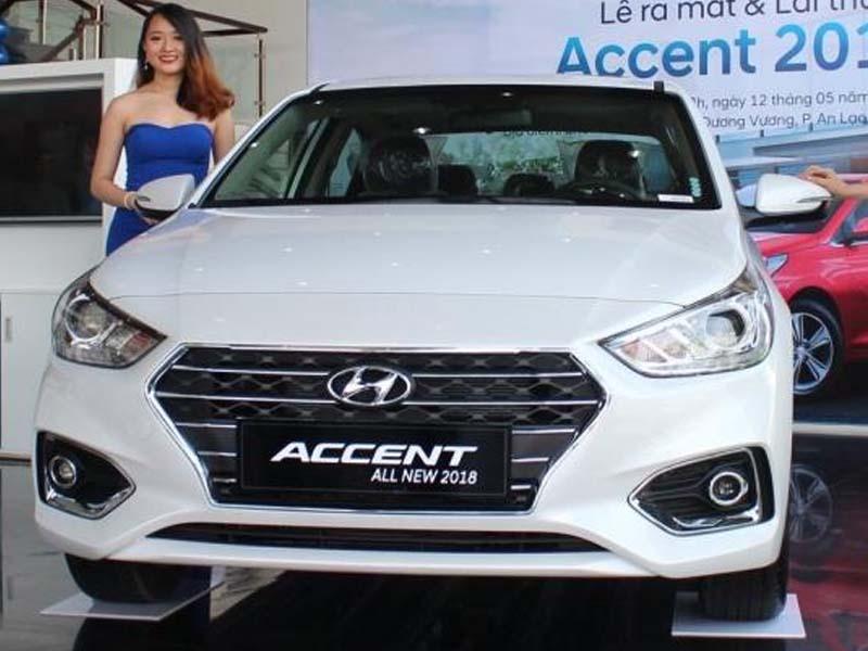 Hyundai Accent 1.4 AT - Hyundai Accent mới: giá xe và khuyến mãi tháng [hienthithang]/[hienthinam]
